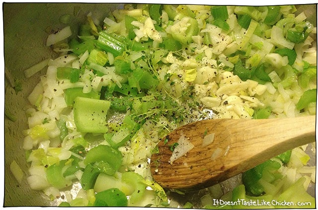 celery-and-onioin-sautee-risotto