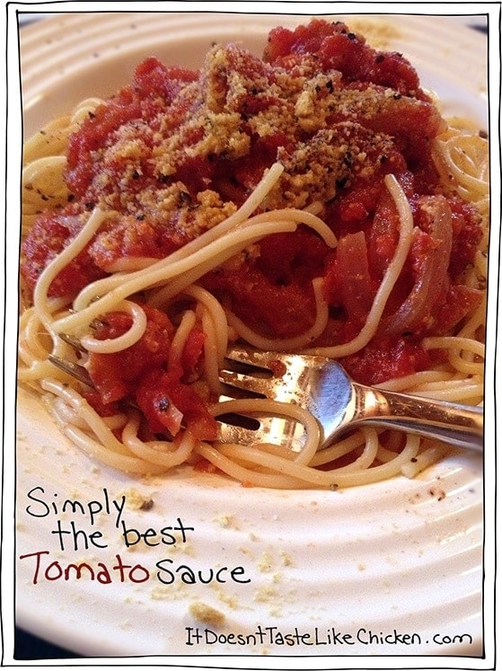 Simply the best Tomato Sauce