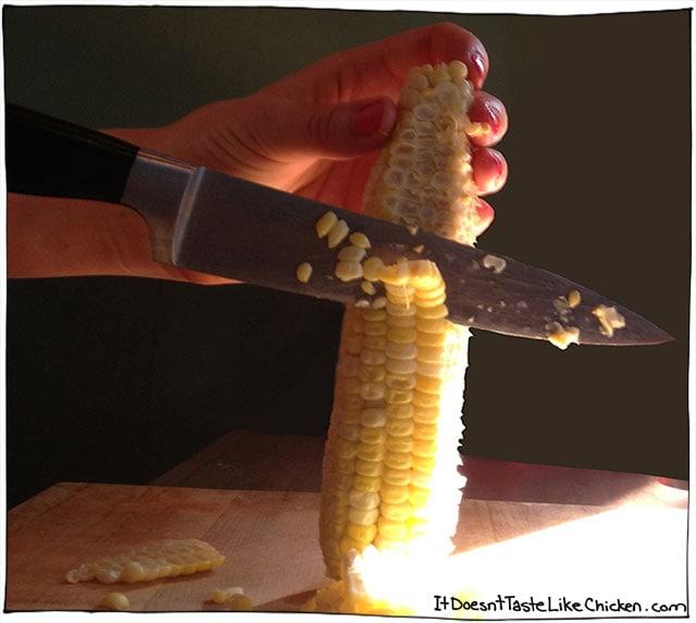 cut-corn