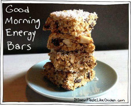 Good Morning Energy Bars