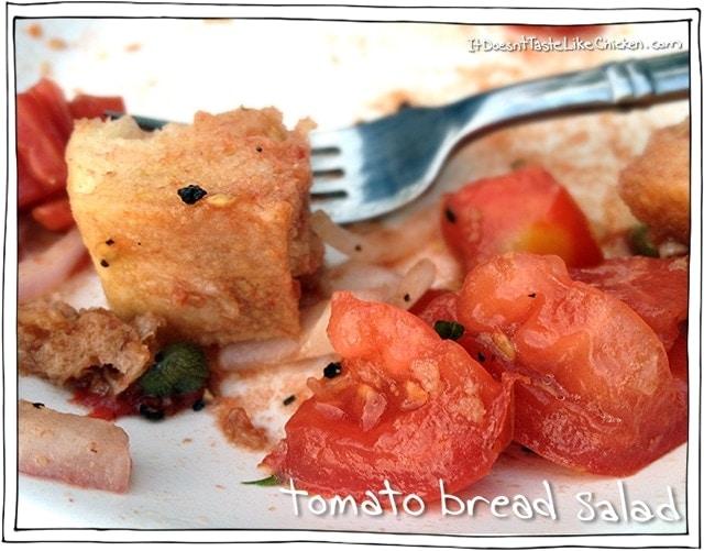 tomato bread salad