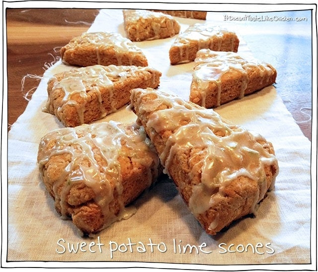 Sweet Potato Lime Scones
