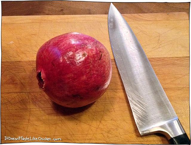 prepare-pomegranate