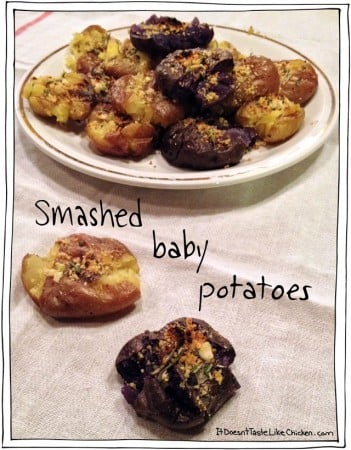 Smashed Baby Potatoes