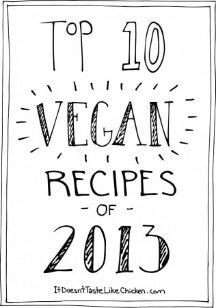 Top 10 Vegan Recipes of 2013