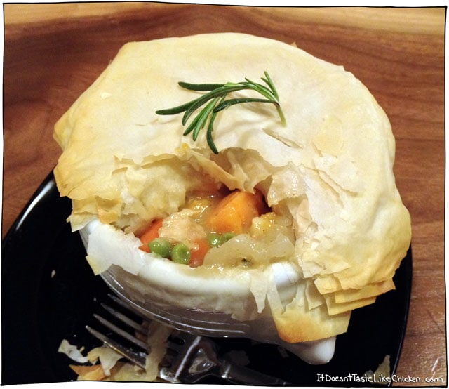 Veggie Pot Pie with Phyllo Crust