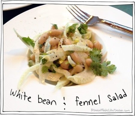 White Bean and Fennel Salad