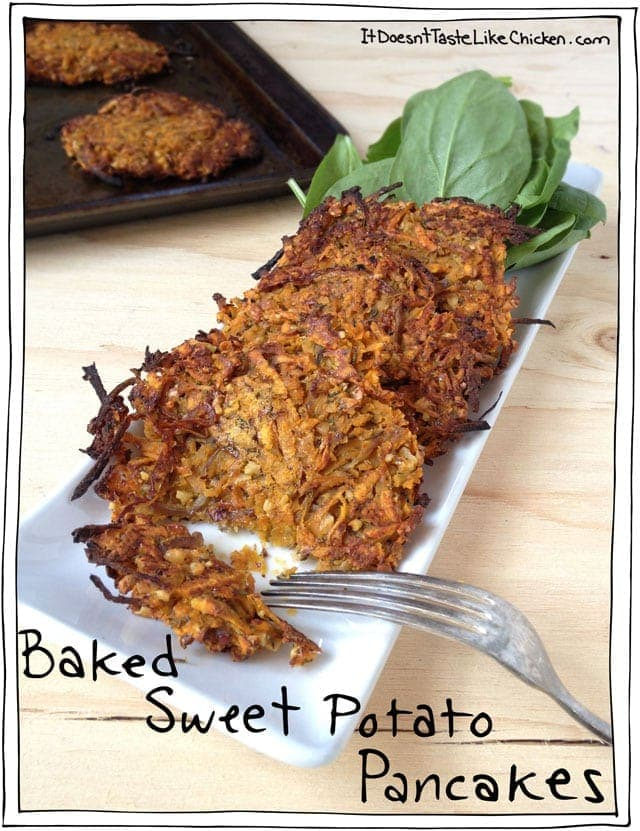 baked-sweet--potato-pancakes