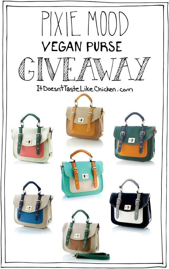 Pixie Mood Vegan Purse GIVEAWAY!
