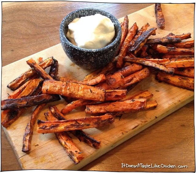 vegan-carrot-fries