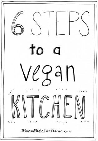 6 Steps to a Vegan Kitchen