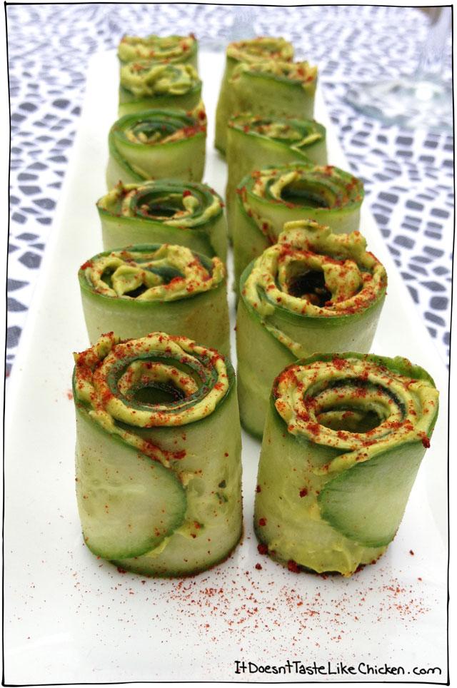 cucumber-avocado-rolls-easy-appetizer