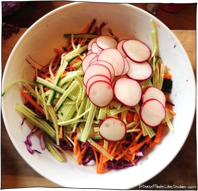 slice-radishes