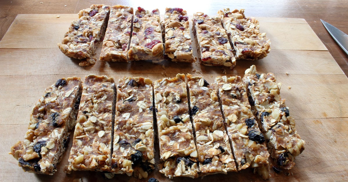 homemade granola bars how to make granola bars just 4 ingredients 30503