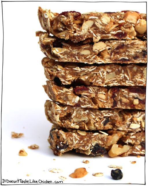 How to make granola bars just 4 ingredients how to make granola bars just 4 ingredients vegan gluten free ccuart Image collections