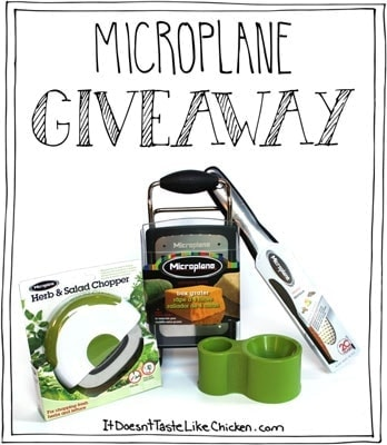 Microplane Review & Giveaway!