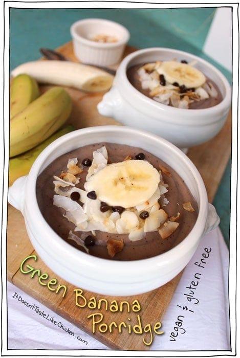 Green Banana Porridge