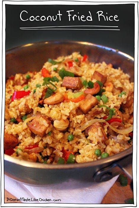 Coconut Fried Rice
