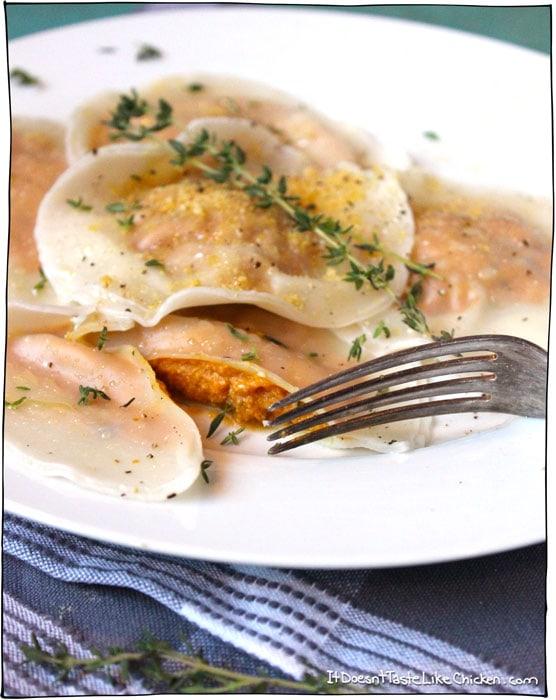 easy-vegan-pumpkin-ravioli