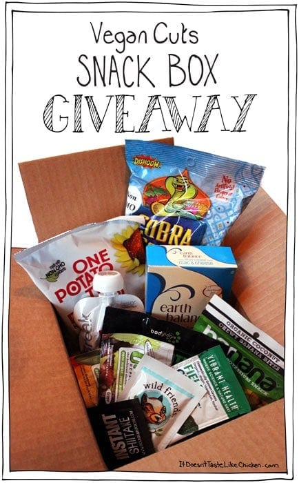 Vegan Cuts Snack Box Giveaway!