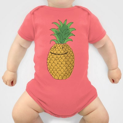 pineapple-onesie