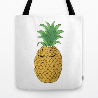 pineapple-tote