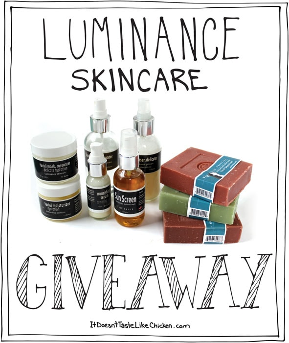 Luminance Skincare Giveaway and Discount Code