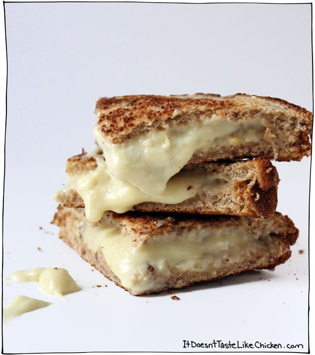 vegan-mozarella-grilled-cheese-recipe