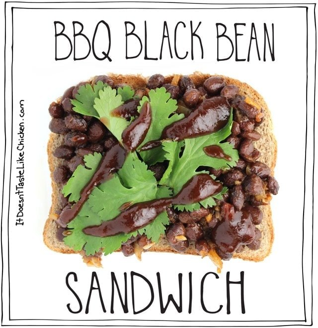 You loved the original post 5 Vegan Sandwiches, so here are 5 more to tickle your taste buds. One for everyday of the work week. #itdoesnttastelikechicken