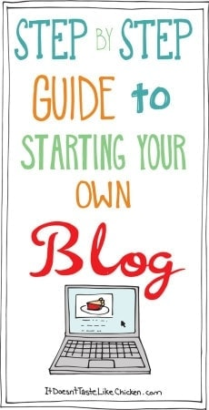 Step by Step Guide to Starting Your Own Blog