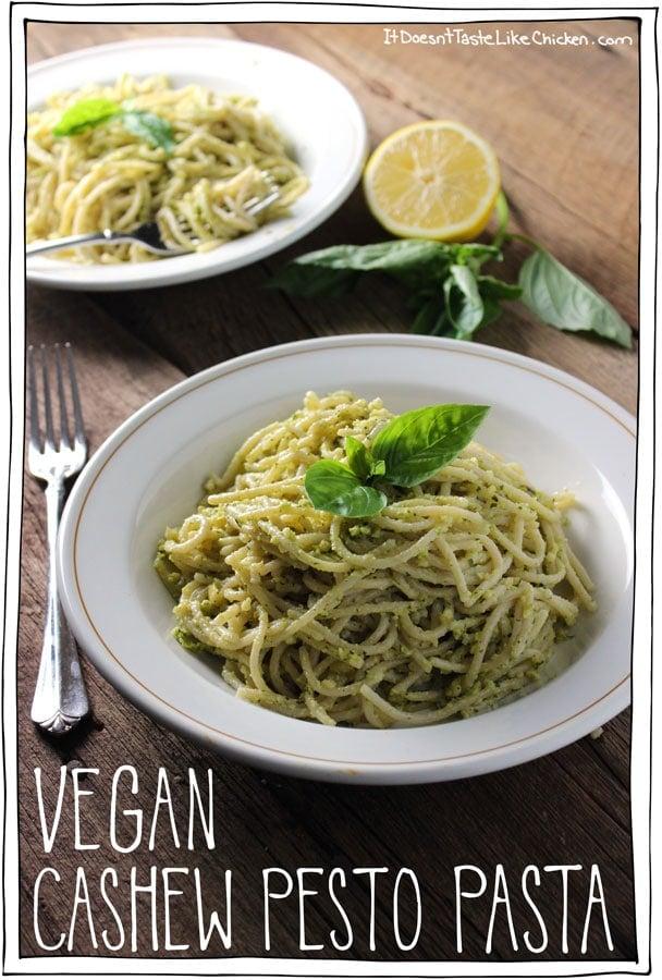 vegan-cashew-pesto-pasta