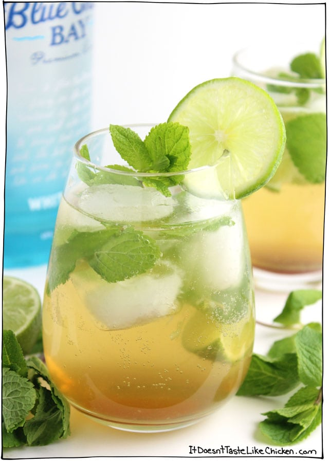 Iced Green Tea Mojito Recipe — Dishmaps