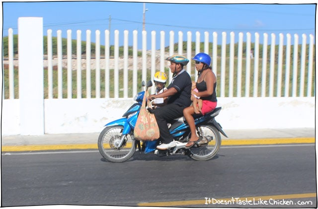family-of-four-on-a-scooter