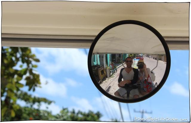 golf-cart-ride-in-isla-mujeres