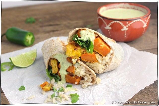 plantain-and-sweet-potato-burrito
