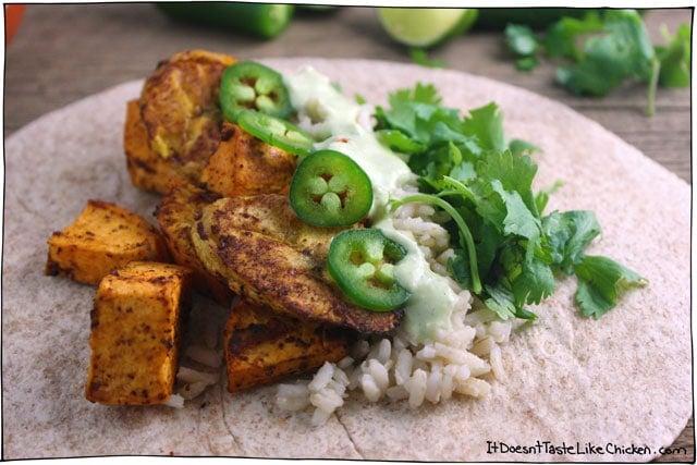 plantain-sweet-potato-burrito-ingredients