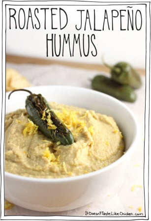 Roasted Jalapeño Hummus