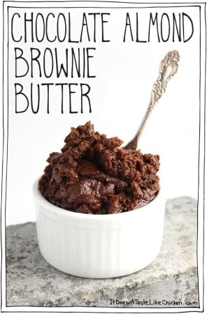 Chocolate Almond Brownie Butter