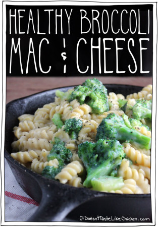 Healthy Broccoli Mac & Cheese