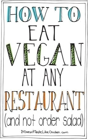 How to Eat Vegan at Any Restaurant (and Not Order Salad)