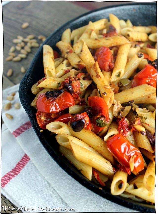 tomato-tapenade-and-pine-nut-pasta-1