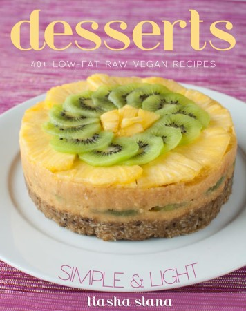 Low-Fat Raw Vegan Desserts Cookbook Review, Recipe, & Giveaway!