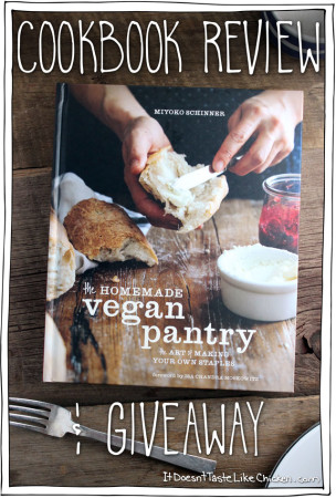 The Homemade Vegan Pantry Review & Giveaway