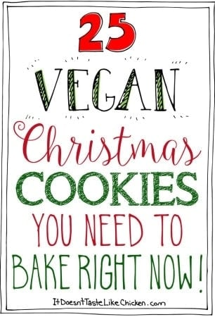 25 Vegan Christmas Cookies You Need to Bake Right Now!