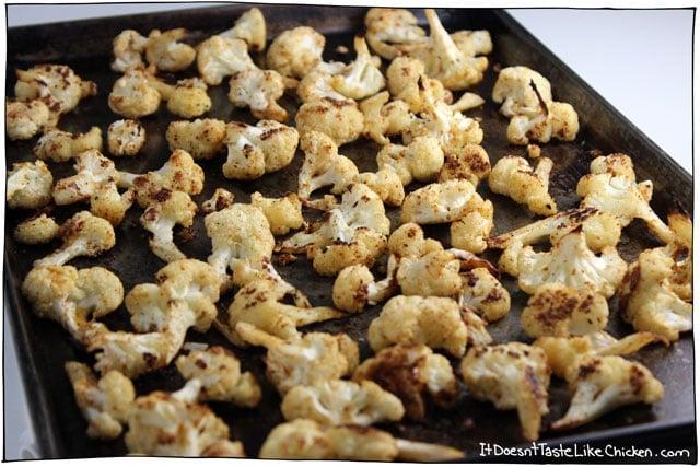 Quick Roasted Cauliflower 05