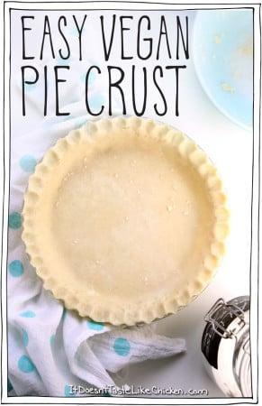 Easy Vegan Pie Crust