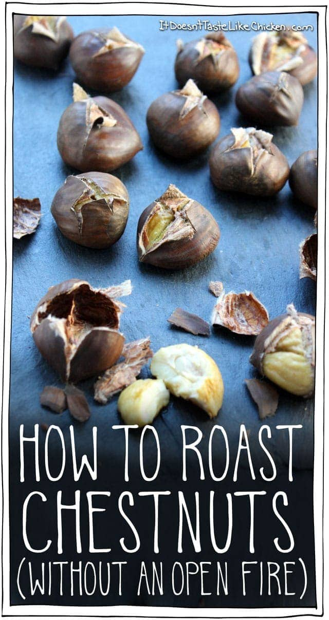 How to Roast Chestnuts (Without an Open Fire)