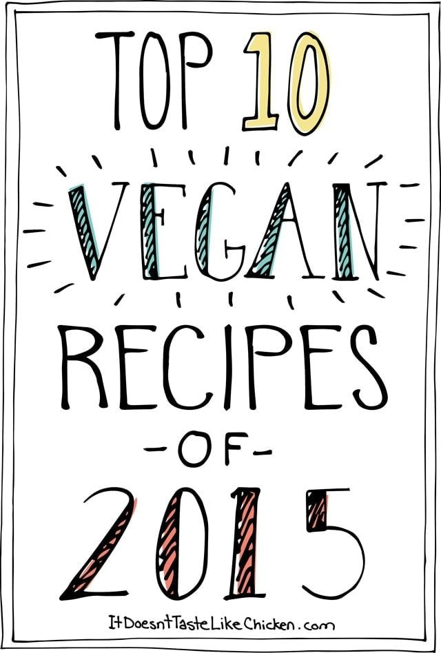 Top 10 Vegan Recipes of 2015