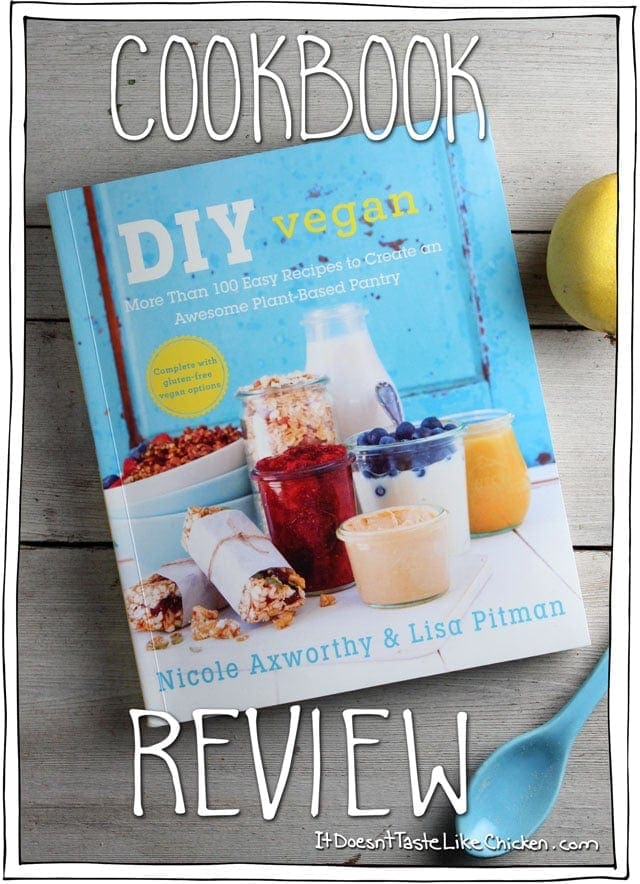 DIY Vegan Cookbook Review