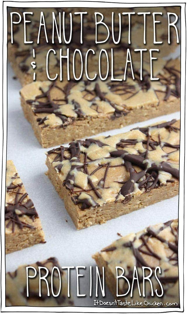 Peanut Butter & Chocolate Protein Bars